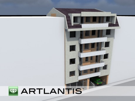 Артлантис (позади Универзална)